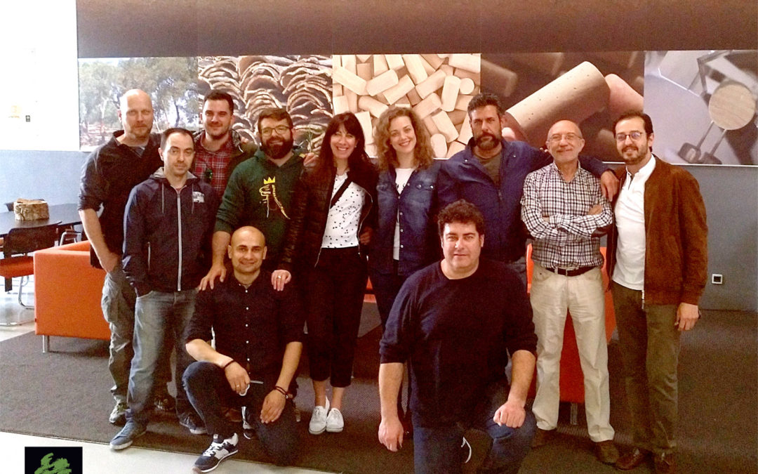 The AALTO team visited the facilities of CORK SUPPLY in Portugal.