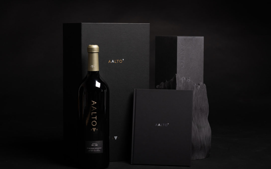 Aalto launches an iconic bottle to commemorate its XX anniversary